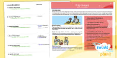 PlanIt - RE Year 4 - Pilgrimages Planning Overview