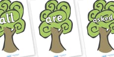 Tricky Words on Trees