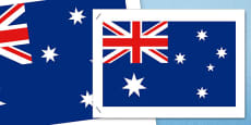 Australia - Flags of Australia Australian National Flag Poster