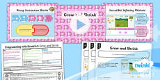 PlanIt - Computing Year 1 - Programming with ScratchJr Lesson 2: Grow and Shrink Lesson Pack