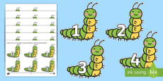 * NEW * Numbers 0-31 to Support Teaching on The Very Hungry Caterpillar Cut-Outs