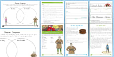 * NEW * Year 3 and 4 Chapter Chat Chapters 8 - 11  Activity Pack to Support Teaching on Matilda