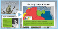 Why Did the First World War Start? PowerPoint