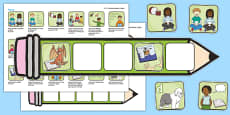 EYFS Reading Pencil Targets