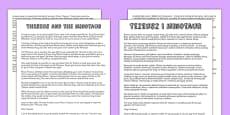 Theseus and the Minotaur Story Print Out Polish Translation