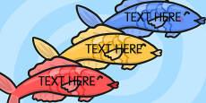 Editable Fish