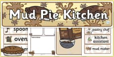 Mud Pie Kitchen Role Play Pack