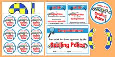 Spelling Police Pack