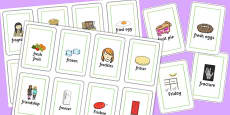 Two Syllable FR Flash Cards