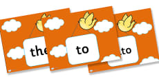Phase 2 Tricky Words Stack Cards PowerPoint