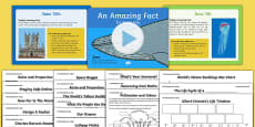 An Amazing Fact a Day June PowerPoint and Activity Sheets Pack