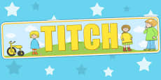 Display Banner to Support Teaching on Titch