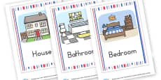 Parts of the House Flashcards
