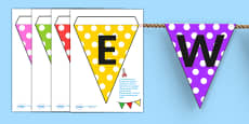 Welcome to Our Class Display Bunting