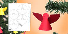 Paper Angels Craft Activity