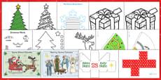 Childminder Christmas Activity Pack
