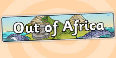 Out Of Africa IPC Topic Display Banner