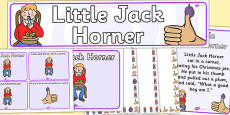 Little Jack Horner Resource Pack