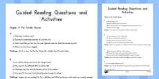 Guided Reading Questions Chapter 4 to Support Teaching on Fantastic Mr Fox