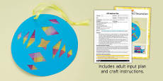 Window Decoration Rangoli Pattern EYFS Adult Input Plan and Craft Pack