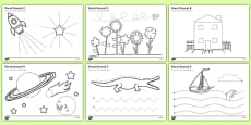 Pencil Control Activity Sheet (Additional Activities)