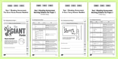 Year 1 Reading Assessment Term 2 Paper 1