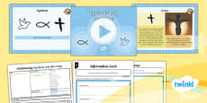 PlanIt - RE Year 4 - Christianity - Lesson 6: Symbols and Meanings Lesson Pack