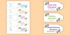 Achievement Brag Tags Mandarin Chinese Translation