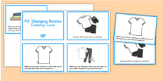 PE Changing Prompt Cards