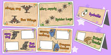 Potion Table Group Signs