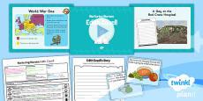 PlanIt - History KS1 - Nurturing Nurses Lesson 4: Edith Cavell Lesson Pack