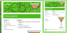 Elderly Care St. Patrick's Day Alcoholic Drink Recipe
