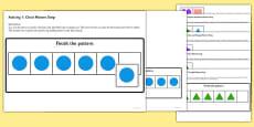 Workstation Pack: Shape Sequence Match Activities Set 1