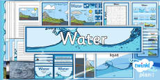 PlanIt - Geography Year 4 - Water Additional Resources