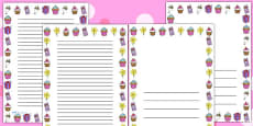 Australia - Mother's Day Page Borders