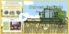 Harvest Festivals Around The World PowerPoint