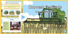 Harvest Festivals Around The World PowerPoint