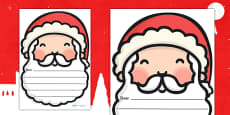 Letters to Santa Writing Templates