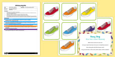 EYFS Shoe Pairs Colour Matching Busy Bag Plan and Resource Pack
