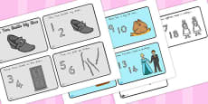 Australia - One, Two, Buckle My Shoe Story Sequencing 4 Per A4