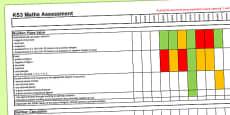 KS3 Maths Assessment Spreadsheet