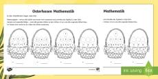 Osterhasen - Mathe Profi - Aufgaben