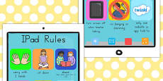 iPad Rules Display Posters (Australia)