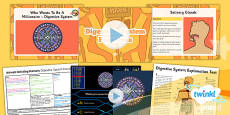 PlanIt - Science Year 4 - Animals Including Humans Lesson 2: Digestive System Functions Lesson Pack
