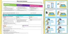Water Area Editable Continuous Provision Plan and Challenge Cards Pack Reception FS2