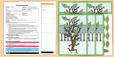 The Family Tree Counting Game EYFS Adult Input Plan and Resource Pack to Support Teaching on Stick Man