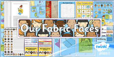 PlanIt - D&T KS1 - Our Fabric Faces Unit: Additional Resources