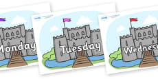 Days of the Week on Castles