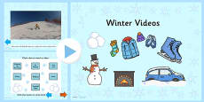 Winter Video PowerPoint