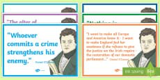 Daniel O'Connell Quotes Card Pack
